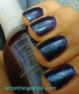 Blurple Duochrome Flaky Layering