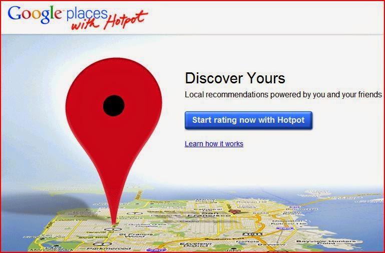 google hotpot ver recomendaciones de nuestros amigos