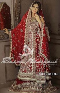 Pakistani Readymade Bridal Wear Dresses 2013-2014