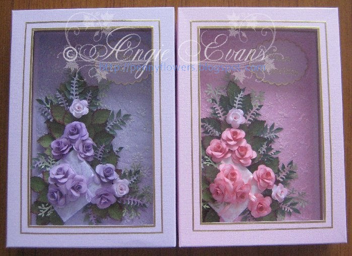 Penny flowers cards entered in royal melbourne show