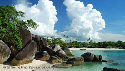 Pantai Tanjung Tinggi, Kepulauan Bangka Belitung