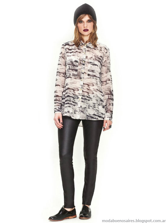 Camisas de mujer otoño invierno 2014. Moda otoño invierno 2014.