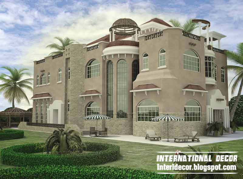 International villas designs modern villas designs for Best modern villa designs