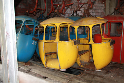 cabinas abandonadas