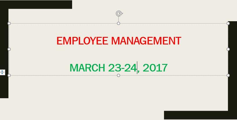 10. Employee Management