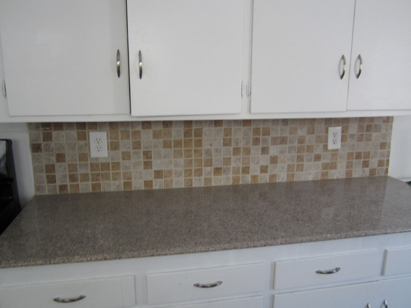 the bees times three how to paint a tile backsplash