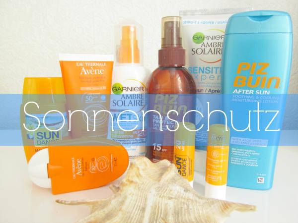 Sonnenschutz für Gesicht & Körper - Mischhaut von Avène, Garnier, Piz Buin, SunDance, Lavera