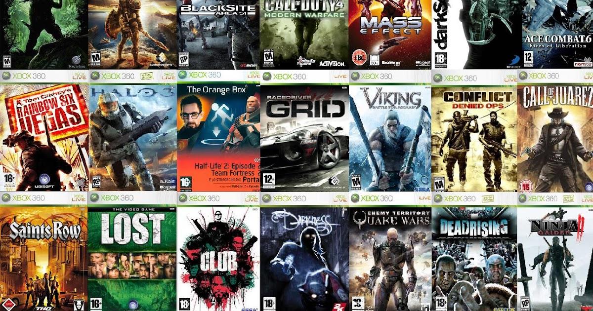Gamer Assault   O Alvo do seu Vício!: Lista de Games