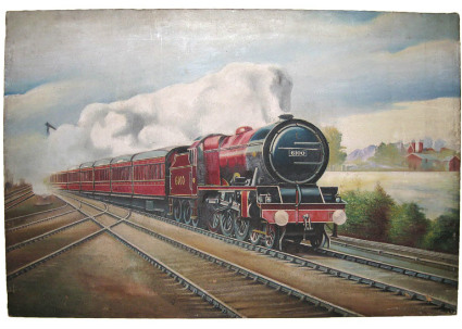 Royal Scot Locomotive