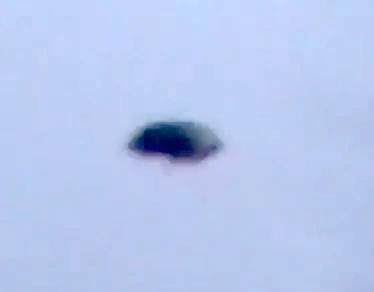 Black Disc UFO Captured Above Arizona 2015, UFO Sighting News