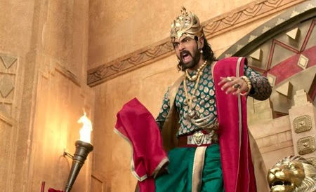 Rana's First Look In Bahubali