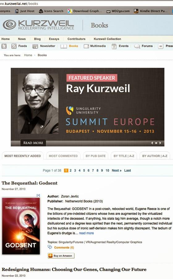 Click to visit KurzweilAI books
