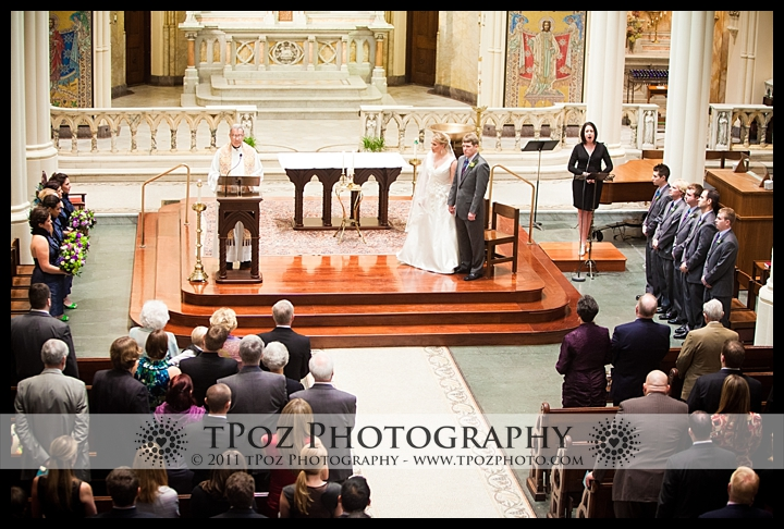 Corpus Christi Church Baltimore Wedding Photo