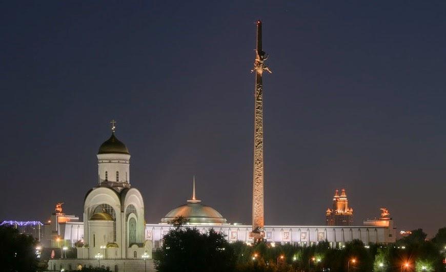 المعالم السياحية في موسكو