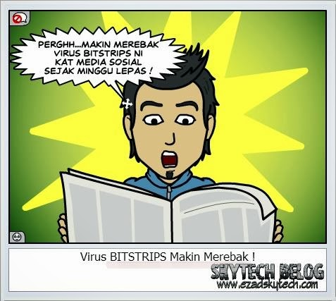 Wordless Wednesday Virus BITSTRIPS Semakin Menular
