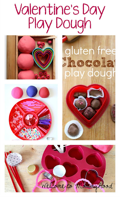 Valentine's Day play doh activities for preschoolers by Welcome to Mommyhood #ValentinesDayActivities, #preschoolactivities, #valentinesdaypreschoolactivities, #montessori, #homeschool