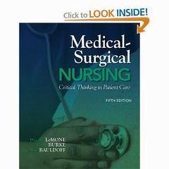 Medical Surgical Nursing 5th Edition Lemone Burke Ebooks Download