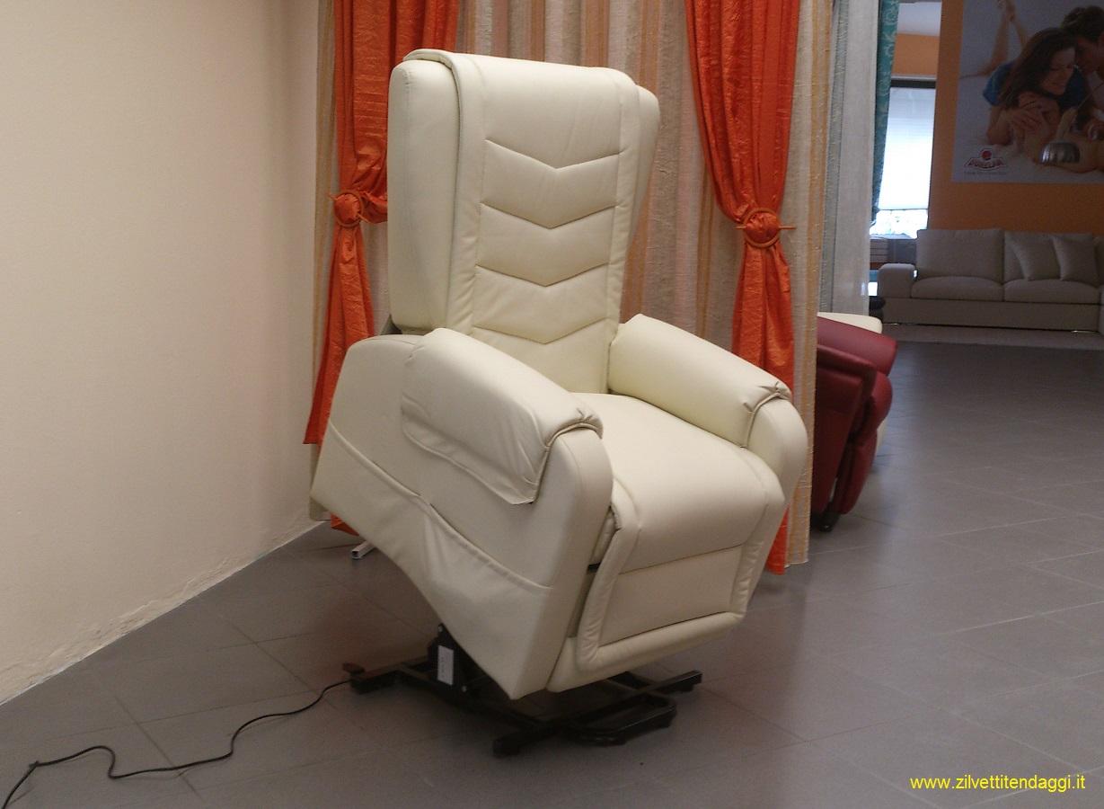 Michela poltrona elettrica alzapersona reclinabile kit - Prezzi poltrone letto ...