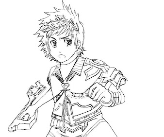 #1 Ventus Coloring Page