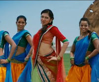Lakshmi Menon Hot Navel show stills