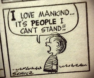 Linus: I love mankind, it's PEOPLE I can't stand