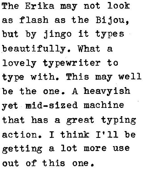 type a machine
