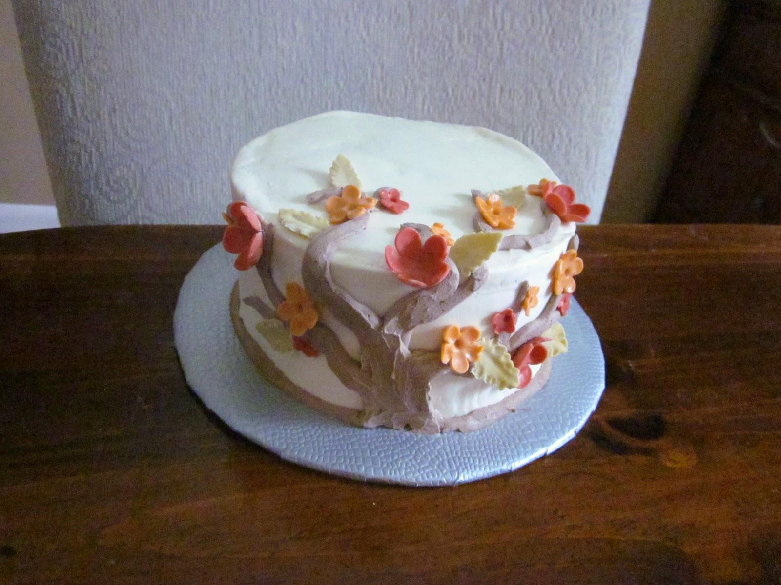 52nd birthday cake