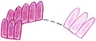 Ободок для волос с вязаным цветком