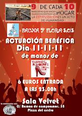 11 noviembre 11. Fiesta benéfica- SALA VELVET