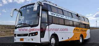 Bangalore to Munnar SRS Sleeper Bus Non AC