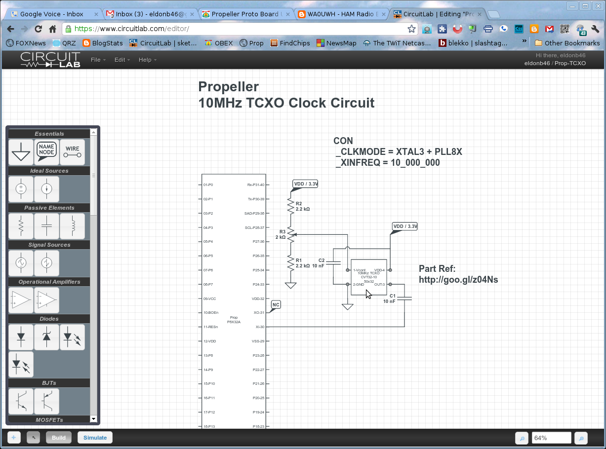 Wa0uwh Electronics Ham Radio Blog March 2012 Circuitlab Voltage Controlled Switch Off State Resistance 01 Schematic On