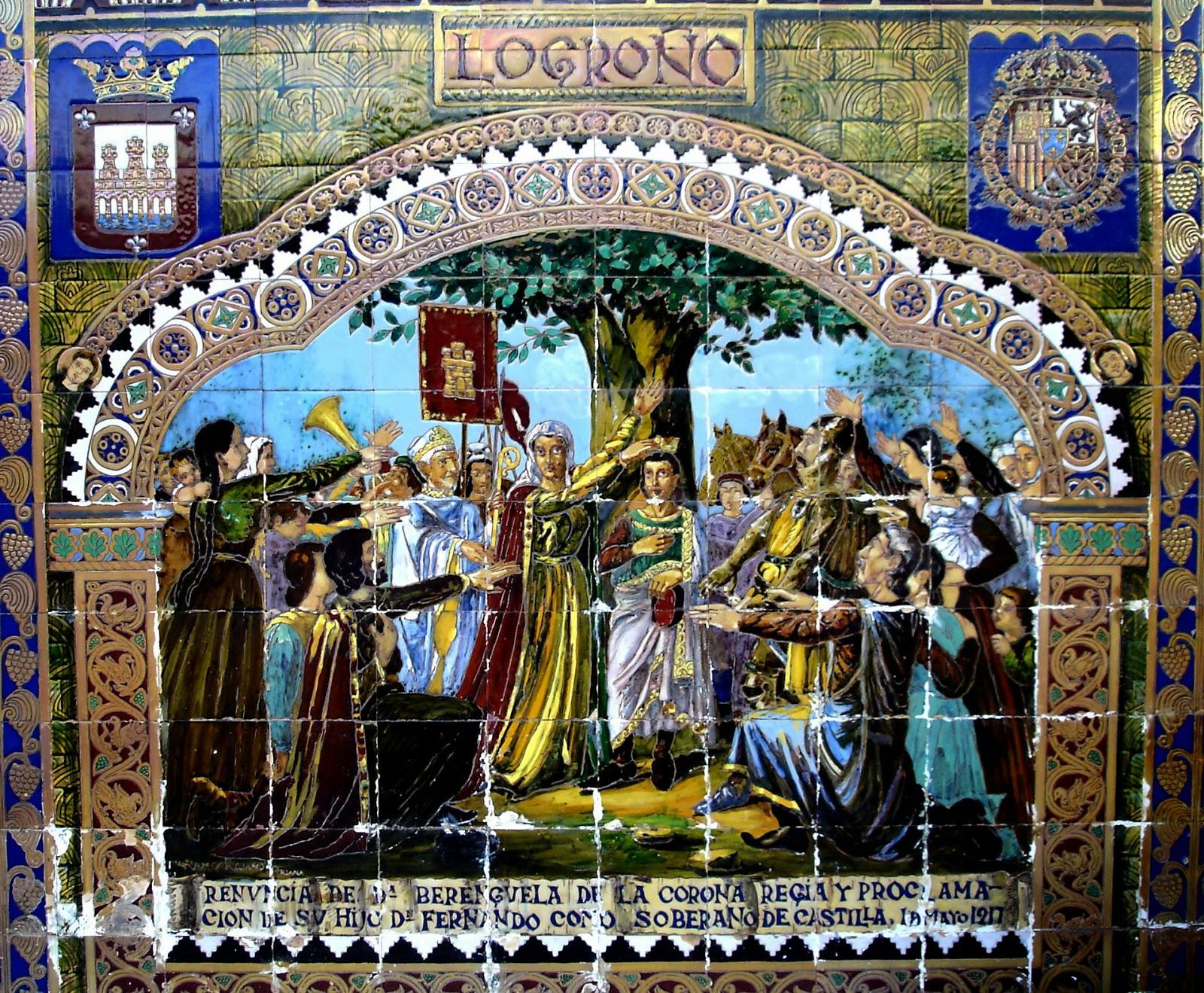 Otra historia de espa a fernando iii es proclamado rey de for El rey de los azulejos