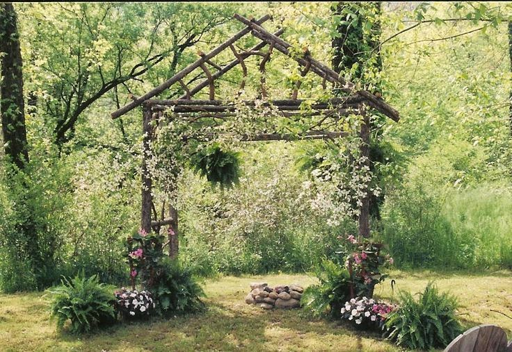 Two Men and a Little Farm: RUSTIC ARBOR, INSPIRATION THURSDAY