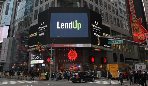 LendUp en vedette à Times Square