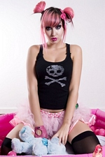 Worlds Cutest Emo Teenie Nina Terror