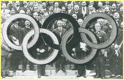 Pierre Coubertin Paris 1914