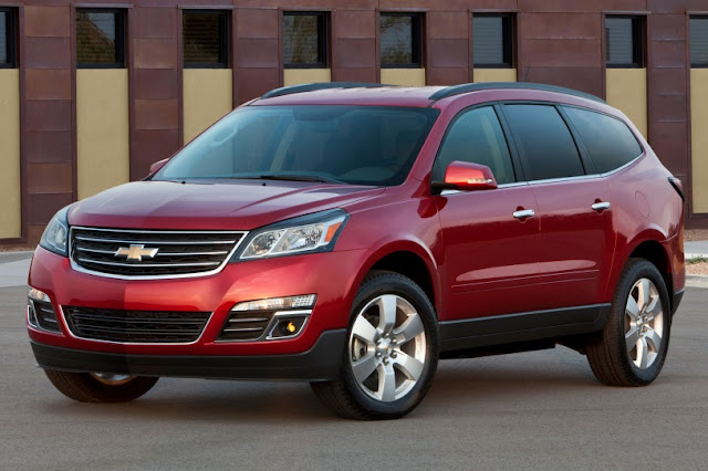 New Chevrolet Traverse perform 2015