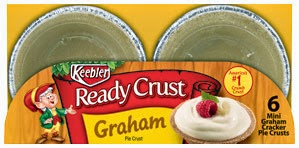 keebler ready crust graham mini pie crusts in package