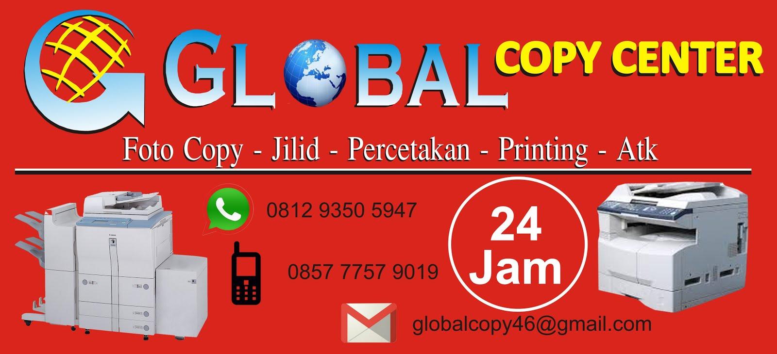 Global » Jasa Fotocopy | Penjilidan | Percetakan | Printing Murah 24 Jam di Jakarta