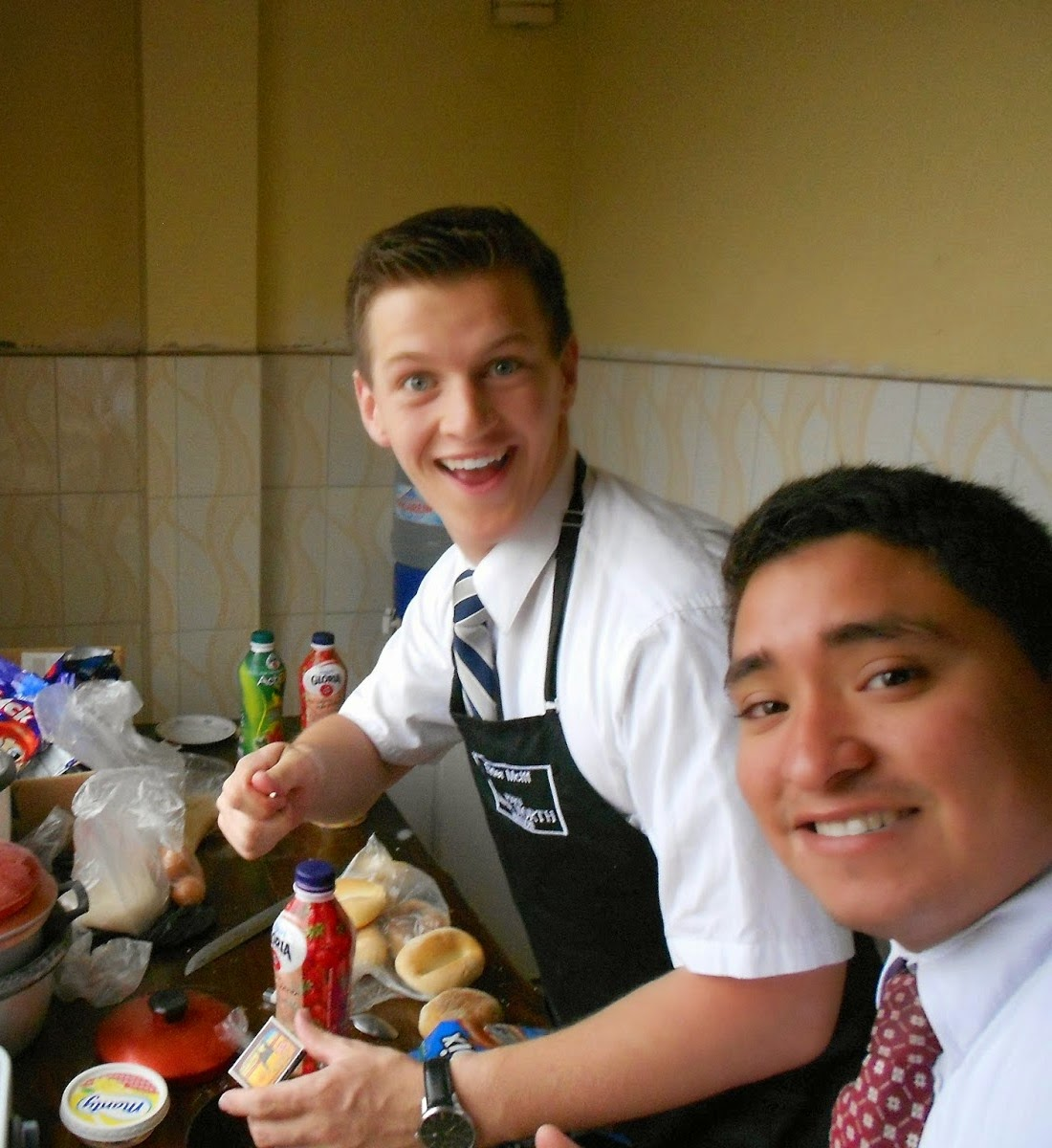 Doing the job in the Peru Lima North Mission!