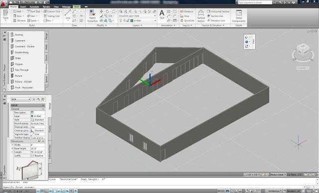 Architecture Autocad7