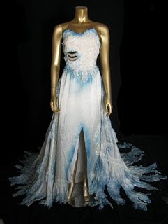 Penny for penny going green reuse recylce reclaim for Corpse bride wedding dress for sale