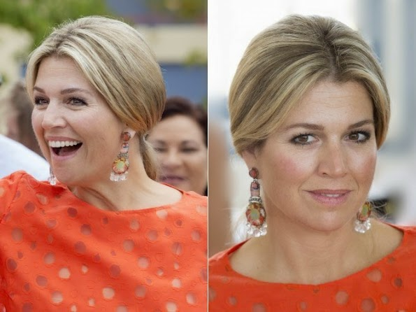 Queen Maxima And King Willem Alexander Visit Oranje Fonds Project