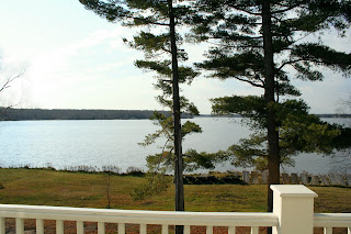 View from Deck, Birch Lodge, Trout Lake, MI