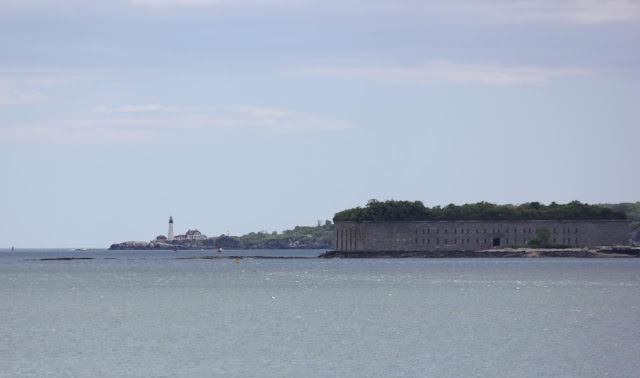 Fort Gorges with Portland Head