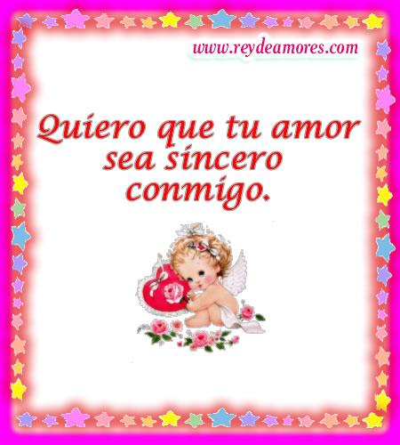 amor sincero verdadero