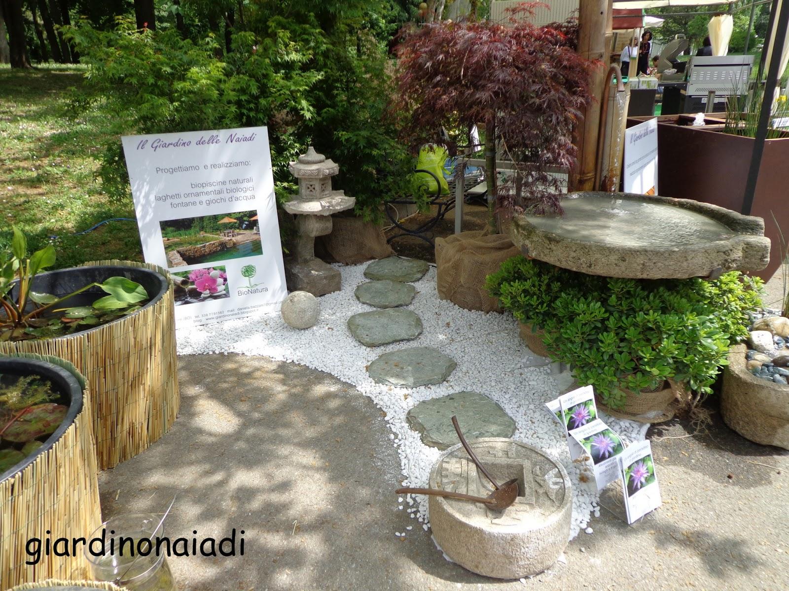Il giardino delle naiadi giardini e terrazzi 2013 for Terrazzi zen