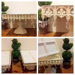 Square lace trays