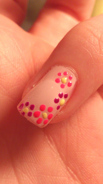 easy . nail art summer