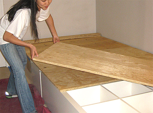 Wretha 39 s adventures living off grid prepping on a budget - Diy under bed storage ideas ...